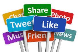 share the social media wealth