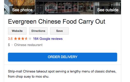 using google my business for restaurants